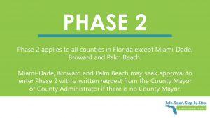 Florida moving to Phase 2